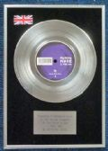 "Depeche Mode - 7"" Platinum Disc - I Feel You"